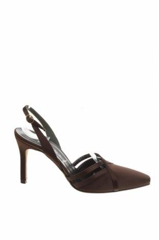 Дамски обувки GINA, Размер 37, Цвят Кафяв, Текстил, Цена 86,80лв.