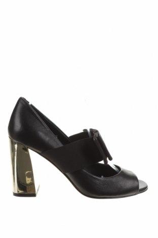 Încălțăminte de damă Karl Lagerfeld, Mărime 36, Culoare Negru, Piele naturală, textil, Preț 281,25 Lei