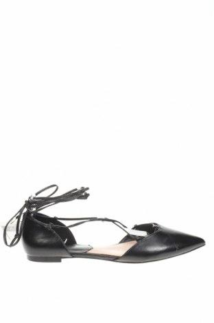 Дамски обувки Mango, Размер 40, Цвят Черен, Еко кожа, Цена 30,02лв.