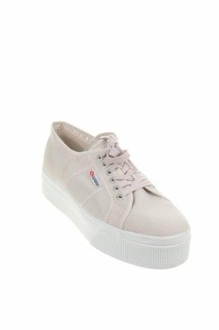 Дамски обувки Superga, Размер 41, Цвят Бежов, Текстил, Цена 42,51лв.