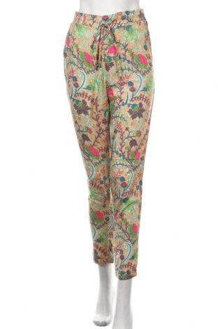 Дамски панталон Anany, Размер S, Цвят Многоцветен, Вискоза, Цена 33,12лв.
