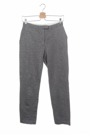 Дамски панталон COS, Размер XS, Цвят Сив, 79% памук, 21% метални нишки, Цена 36,30лв.