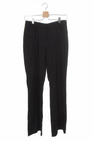 Дамски панталон Casa Blanca, Размер XS, Цвят Черен, 96% полиестер, 3% еластан, 1% вискоза, Цена 17,64лв.