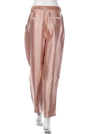 Pantaloni de femei Edited, Mărime M, Culoare Roz, 67% viscoză, 19% poliamidă, 14% poliester, Preț 177,63 Lei