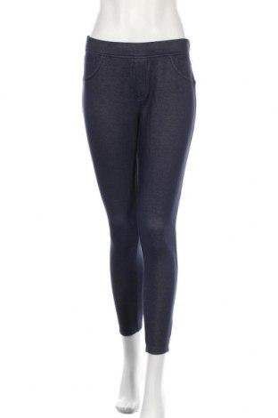 Дамски панталон Essentials by Tchibo, Размер M, Цвят Син, 58% полиестер, 38% памук, 4% еластан, Цена 5,51лв.