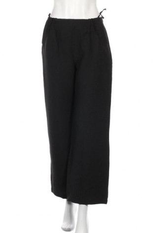 Дамски панталон Evelin Brandt, Размер M, Цвят Черен, 65% вълна, 30% полиестер, 5% еластан, Цена 12,34лв.