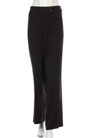 Дамски панталон Gelco, Размер XXL, Цвят Черен, 62% полиестер, 33% вискоза, 5% еластан, Цена 15,23лв.