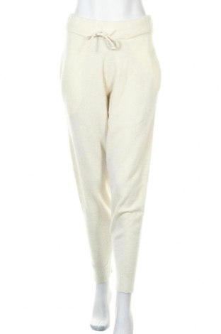 Дамски панталон LeGer By Lena Gercke, Размер M, Цвят Бял, 32% вълна, 32% вълна от алпака, 30% полиамид, 6% еластан, Цена 41,60лв.