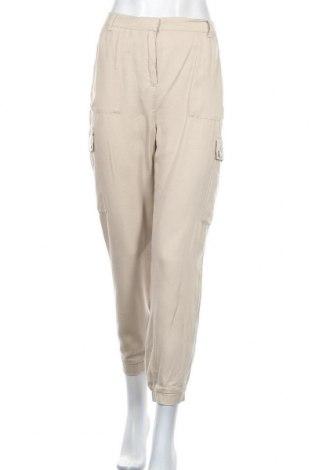 Дамски панталон One More Story, Размер M, Цвят Бежов, Лиосел, Цена 20,06лв.