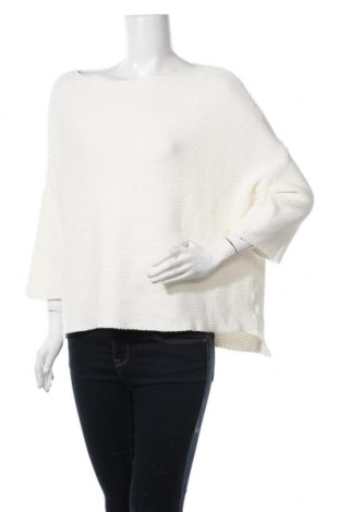 Дамски пуловер Aaiko, Размер M, Цвят Бял, Памук, Цена 6,83лв.