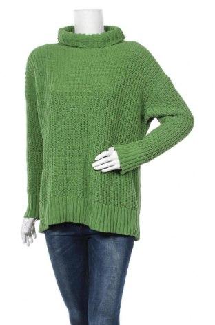 Дамски пуловер Aerie, Размер S, Цвят Зелен, Полиестер, Цена 10,40лв.