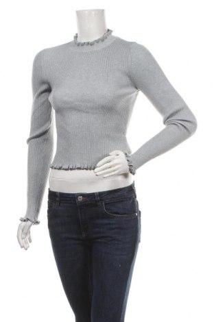 Дамски пуловер Ally, Размер M, Цвят Сив, Полиестер, Цена 12,29лв.