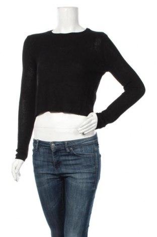 Дамски пуловер Ally, Размер M, Цвят Черен, Вискоза, Цена 14,65лв.