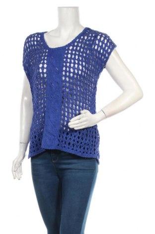 Дамски пуловер Apanage, Размер M, Цвят Син, Памук, Цена 6,04лв.