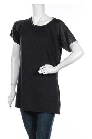 Дамски пуловер Apriori, Размер M, Цвят Сив, 52% коприна, 20% полиамид, 20% вискоза, 8% кашмир, Цена 15,23лв.