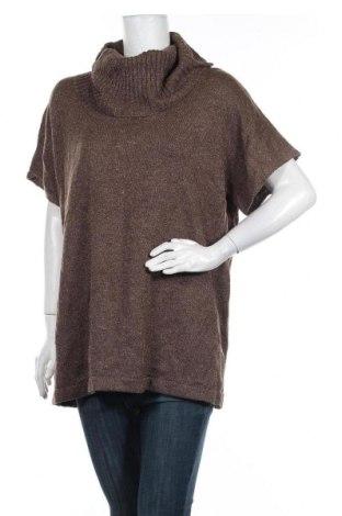 Дамски пуловер Autograph, Размер L, Цвят Кафяв, Вълна, акрил, метални нишки, Цена 13,65лв.