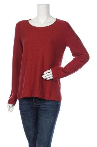 Дамски пуловер Christian Berg, Размер L, Цвят Червен, Памук, Цена 49,40лв.