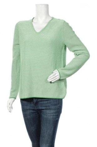 Дамски пуловер Christian Berg, Размер M, Цвят Зелен, 100% памук, Цена 36,40лв.