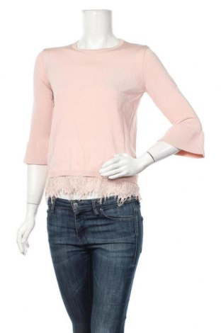 Дамски пуловер Cortefiel, Размер S, Цвят Розов, Цена 34,81лв.