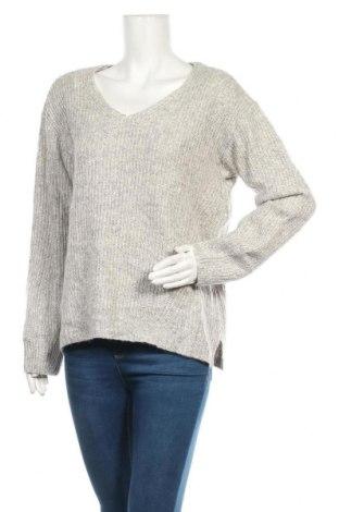 Дамски пуловер Essentials by Tchibo, Размер M, Цвят Сив, 59% памук, 37% полиакрил, 4% вълна, Цена 7,25лв.