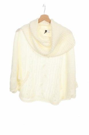 Дамски пуловер H&M Divided, Размер XS, Цвят Бял, Цена 21,84лв.