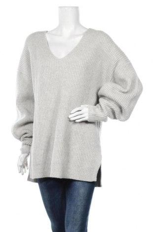 Дамски пуловер LeGer By Lena Gercke, Размер S, Цвят Сив, 60% вълна, 40% полиамид, Цена 51,35лв.