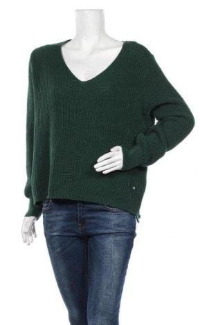 Дамски пуловер LeGer By Lena Gercke, Размер XS, Цвят Зелен, 50% памук, 50% полиакрил, Цена 20,53лв.