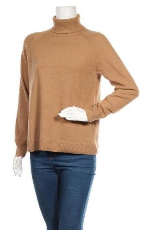 Dámský svetr Massimo Dutti, Velikost L, Barva Hnědá, 96% vlna, 4% kašmír , Cena  727,00Kč