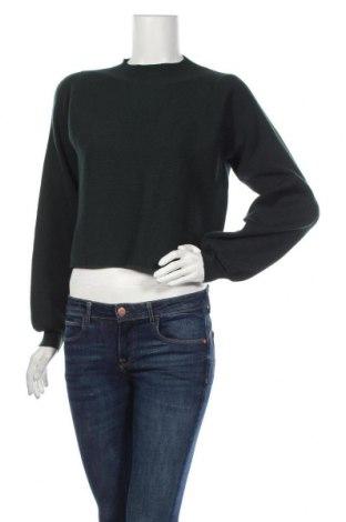 Дамски пуловер One More Story, Размер L, Цвят Зелен, Цена 7,88лв.