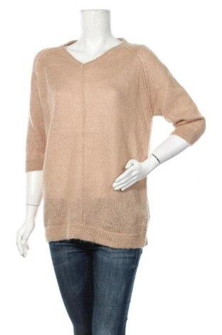 Дамски пуловер Part Two, Размер XL, Цвят Кафяв, 35% мохер, 34% вълна, 31% полиамид, Цена 23,21лв.