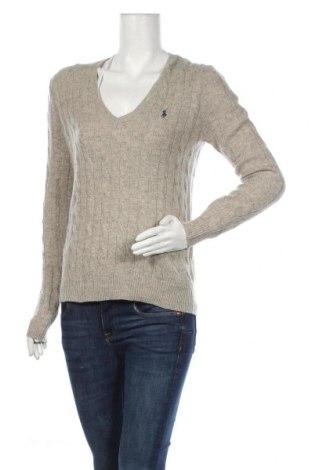 Dámský svetr Polo By Ralph Lauren, Velikost M, Barva Šedá, 90% vlna, 10% kašmír , Cena  2569,00Kč