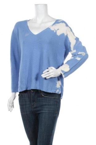 Pulover de femei Rich & Royal, Mărime L, Culoare Albastru, Bumbac, Preț 115,22 Lei