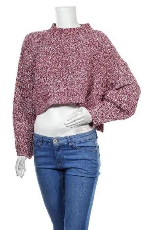 Дамски пуловер SHEIN, Размер M, Цвят Червен, Акрил, Цена 17,75лв.
