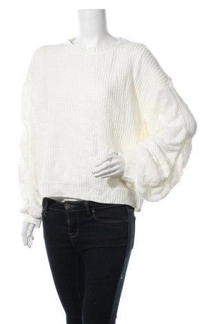 Дамски пуловер SHEIN, Размер S, Цвят Бял, Акрил, Цена 21,84лв.