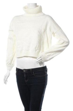 Дамски пуловер SHEIN, Размер M, Цвят Бял, Акрил, Цена 17,06лв.
