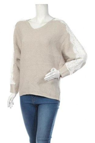 Дамски пуловер SHEIN, Размер S, Цвят Сив, 100% акрил, Цена 19,11лв.