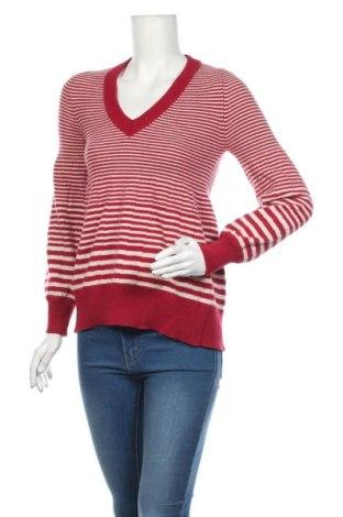 Дамски пуловер United Colors Of Benetton, Размер M, Цвят Червен, 80% вълна, 20% полиамид, Цена 11,03лв.