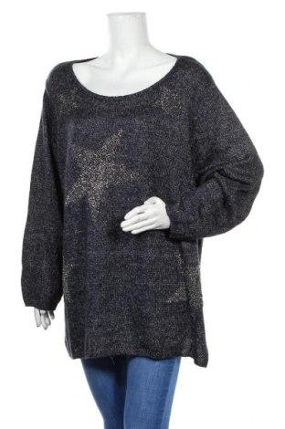 Damski sweter Yessica, Rozmiar 4XL, Kolor Niebieski, Cena 56,70zł