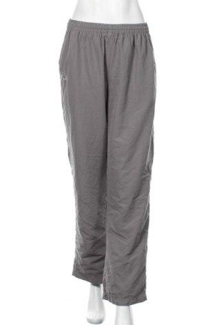 Дамски спортен панталон Kappa, Размер L, Цвят Сив, Полиестер, Цена 16,75лв.