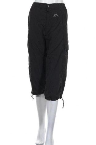 Дамски спортен панталон Kappa, Размер S, Цвят Черен, Полиестер, Цена 33,00лв.