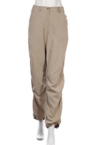 Дамски спортен панталон Vaude, Размер M, Цвят Бежов, Полиамид, Цена 18,70лв.
