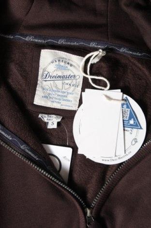 Дамски суичър Dreimaster, Размер S, Цвят Кафяв, 65% полиестер, 35% памук, Цена 74,25лв.