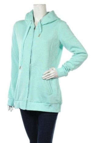 Дамски суичър MyMO, Размер M, Цвят Зелен, 65% полиестер, 35% памук, Цена 31,05лв.