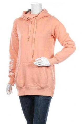 Дамски суичър MyMO, Размер M, Цвят Оранжев, 65% полиестер, 35% памук, Цена 28,32лв.