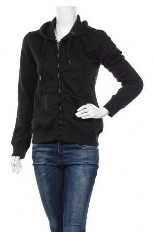 Дамски суичър MyMO, Размер S, Цвят Черен, 65% полиестер, 35% памук, Цена 33,12лв.
