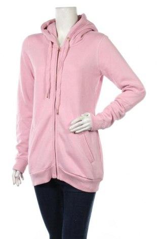 Дамски суичър MyMO, Размер M, Цвят Розов, 65% полиестер, 35% памук, Цена 28,32лв.