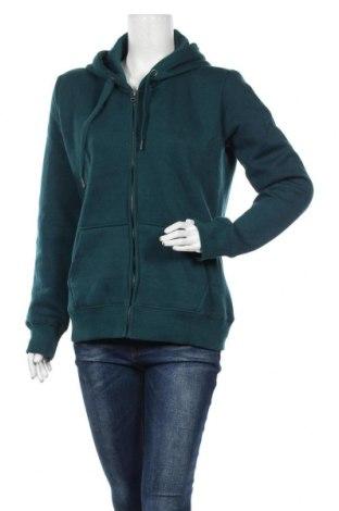 Дамски суичър MyMO, Размер L, Цвят Зелен, 65% полиестер, 35% памук, Цена 31,05лв.