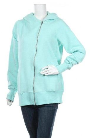 Дамски суичър MyMO, Размер XL, Цвят Зелен, 65% полиестер, 35% памук, Цена 24,30лв.