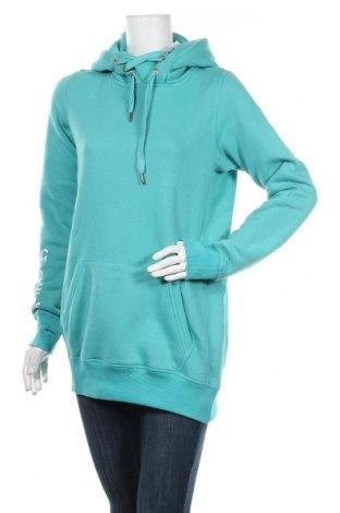 Дамски суичър MyMO, Размер M, Цвят Зелен, 65% полиестер, 35% памук, Цена 33,12лв.