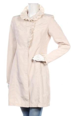 Дамско палто Bata, Размер M, Цвят Бежов, Полиестер, Цена 43,50лв.